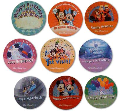 Image result for disney park buttons