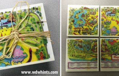 Disney theme coasters