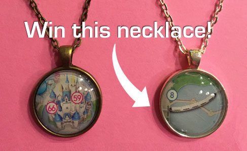 WDW Hints Necklace Prize