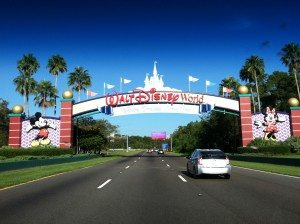 Driving in when staying off property at WDW