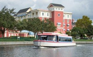 Transportation when staying on property at Walt Disney World