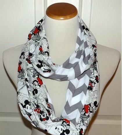 Mickey scarf