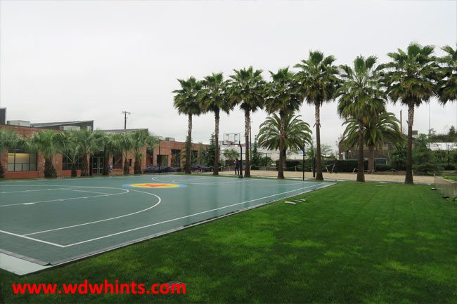 Pizar baskeball court