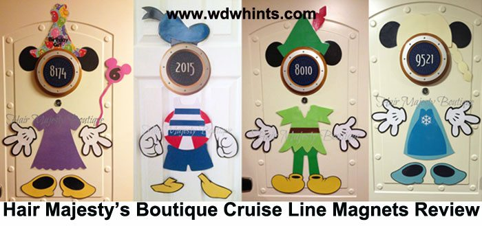 Disney Cruise Door Magnets