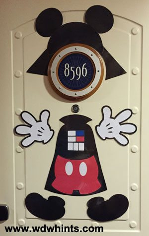 Mickey Darth Vader Door Magnet