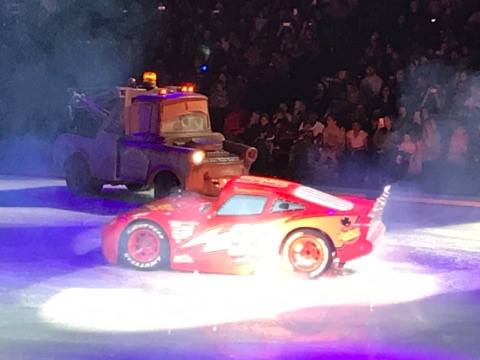 Cars at Disney on Ice