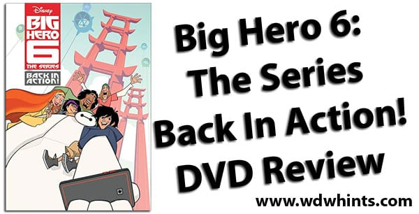 Big Hero 6 DVD Review